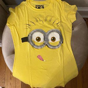 NEW Despicable Me 2 Yellow Minion T-Shirt